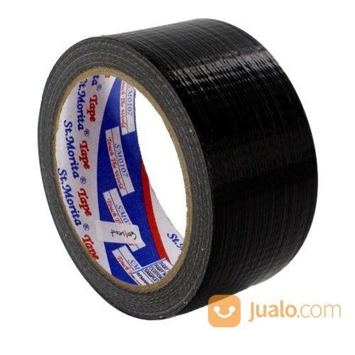 St. Morita Cloth Tape Black - SM2611CLBC (36 Mm X 12m) (14550975) di Kota Jakarta Timur