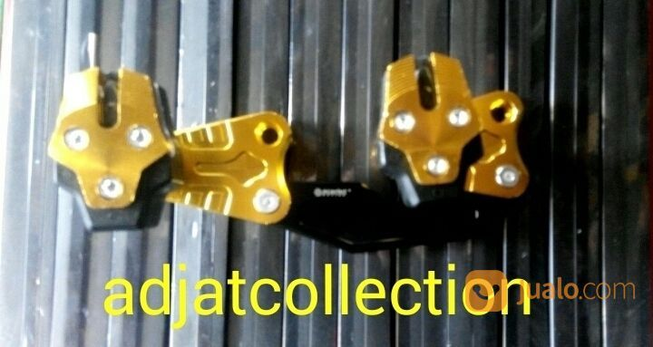 Newww.. Slider Pelindung Knalpot Yamaha NMAX Scarrlet
