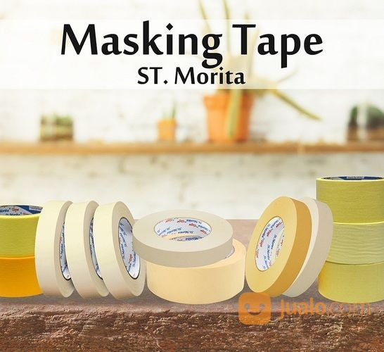 ST. MORITA - Masking Tape General 48 Mm - Yellow (14571339) di Kota Jakarta Timur