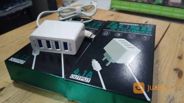 TRAVEL CHARGER 4 USB 4.1A (14582481) di Kab. Pasuruan