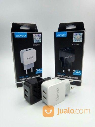 BATOK CHARGER VANVO 2 USB 2.4A (14610619) di Kab. Pasuruan
