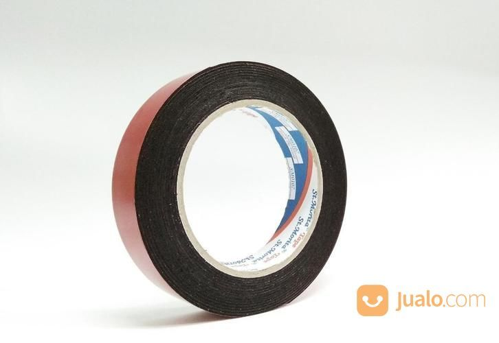 ST. MORITA - Double PE Foam Tape Black 24 Mm - Red (14634457) di Kota Jakarta Timur