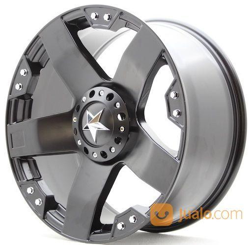Velg Mobil Ring 18 Hsr Tipe Rockstar Lobang 5 Model Pelek Offroad Bekasi Jualo