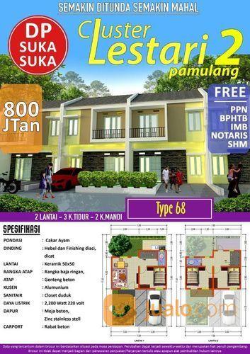 Cluster Lestari 2 Pamulang Dapat Kan Harga Promo (14691605) di Kota Tangerang Selatan