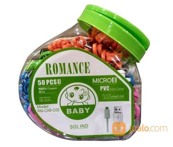 Kabel Toples Romance 100 Cm Bisa Buat USB DATA ( 1 Toples Isi 50 PCS ) (14741685) di Kota Yogyakarta
