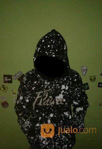 Jaket hoodie flava gl pria 14763473