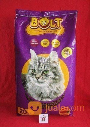 Makanan Kucing Bolt 20kg Cat Food Tangerang Jualo