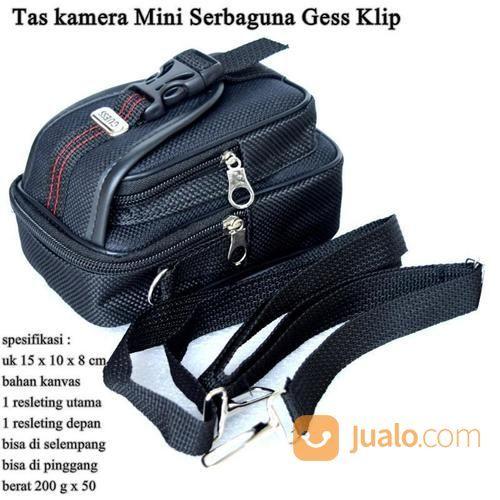 Tas Serbaguna Pria Selepang Gess Klip Black (14779379) di Kota Jakarta Timur