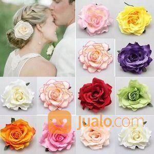 Hair clip rose jepit wanita 14787607