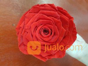 Preserved flower rose kebutuhan rumah tangga interior dan dinding 14787647