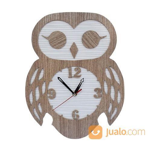 Jam Dinding Karakter Cym Model Owl Brown (14792135) di Kota Cimahi