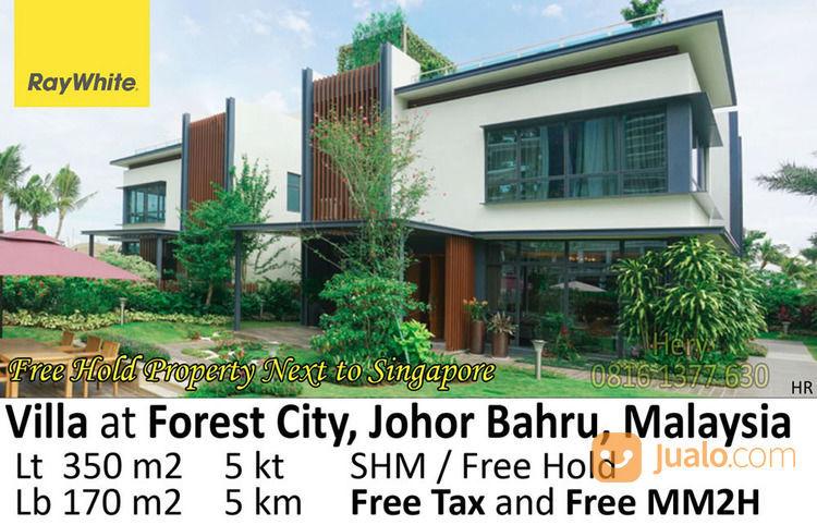 Investasi Menarik Di Forest City Johor Bahru Bebas Pajak Pembelian Jakarta Utara Jualo