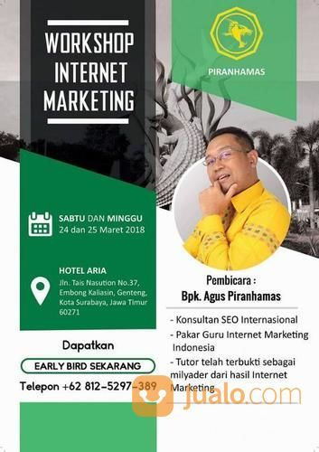 Workshop Internet Marketing Surabaya (14848069) di Kota Surabaya