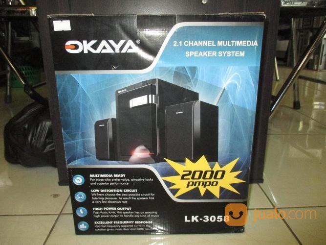 Okaya Speaker 2.1 Channel Multimedia Speaker System Lk-3058