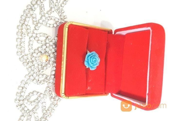 Cincin Mawar Bud Rose Ring Cincin Lucu Kawai Ring