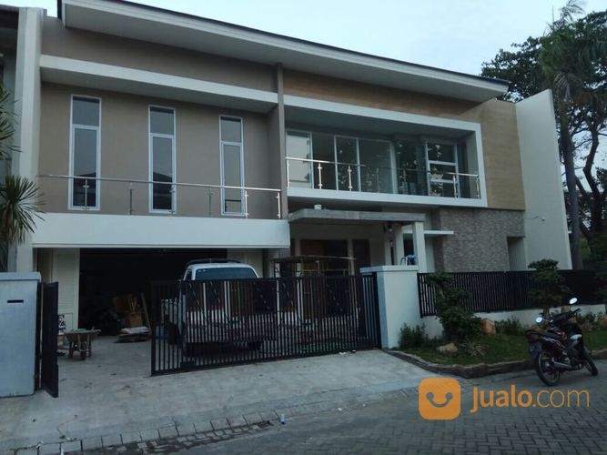 NEW GRESS Rumah San Antonio Pakuwon City Bangunan MINIMALIS ON Progress (14869657) di Kota Surabaya