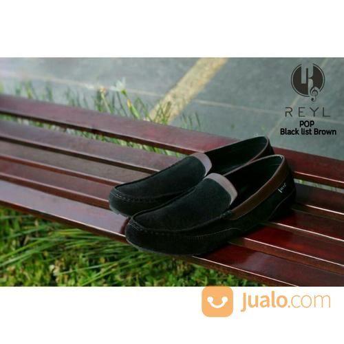 Sepatu casual slop re pria 14885613