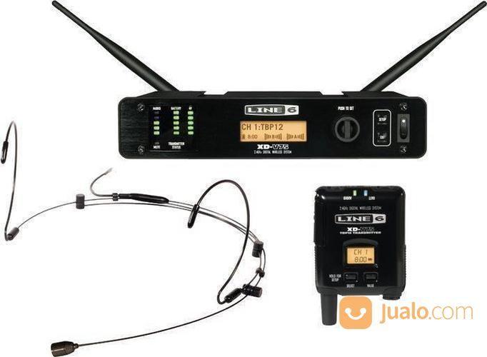 Line 6 XD-V75HS Black Digital Wireless Headset & Bodypack Microphone System (14926397) di Kota Batam