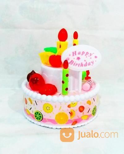 Kado Hadial Ultah Mainan Delicious Happy Birthday Cake Toys Flashing Light And Sound Nf588 Jakarta Barat Jualo
