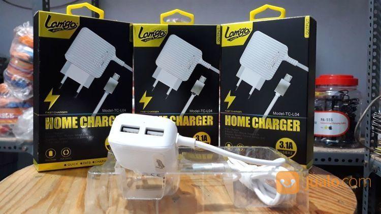 Travel charger lamigo aksesoris handphone dan tablet lainnya 15181237