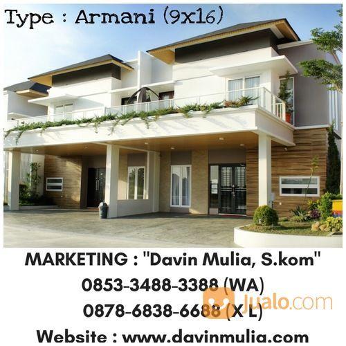 Rumah Medan SHM - Givency One - Type Armani (9x16) (15222717) di Kota Medan