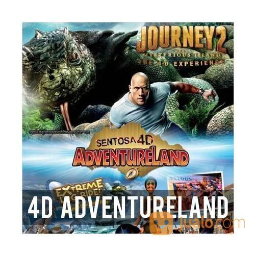 Singapore 4D Adventureland Sentosa Island E-Ticket DEWASA (15248353) di Kota Surabaya