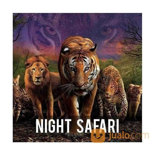Night Safari Zoo Singapore E-Ticket DEWASA (15248685) di Kota Surabaya