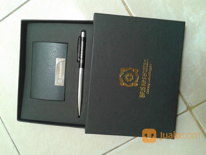 Gift Set 2in1 Grafir 1sisi + Box Poly Silver (15254609) di Kota Tangerang