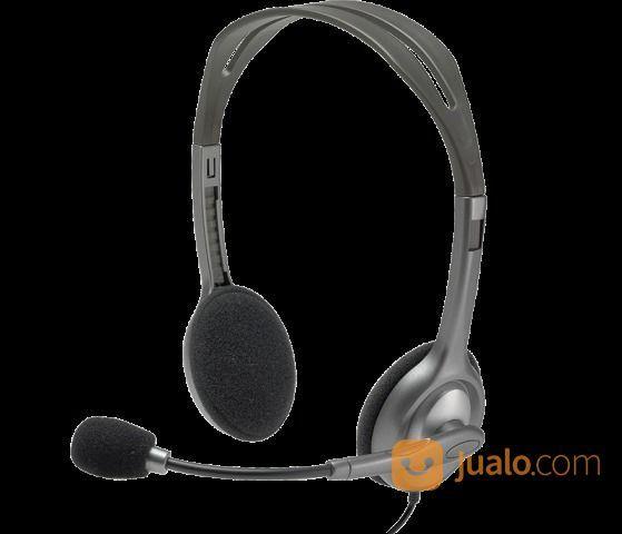 Headset LOGITECH H110 ( Colokan 2) (15265981) di Kota Denpasar