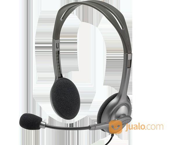 Headset LOGITECH H111 ( Colokan 1 ) (15266657) di Kota Denpasar
