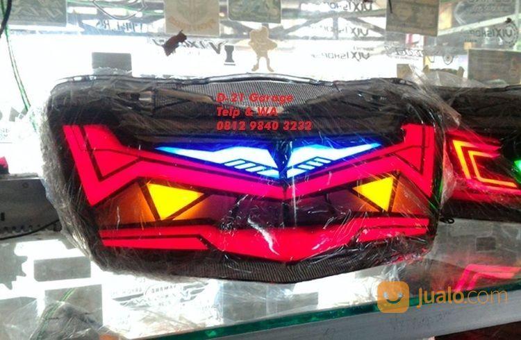 LED Stop Lamp Custom Yamaha N Max Model Gundam With Sein Running (15281529) di Kota Tangerang