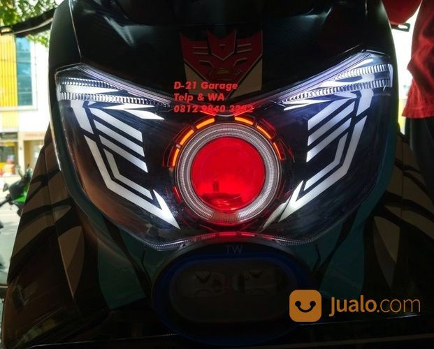 HID Projector Yamaha N Max FullSet Custom (15281693) di Kota Tangerang
