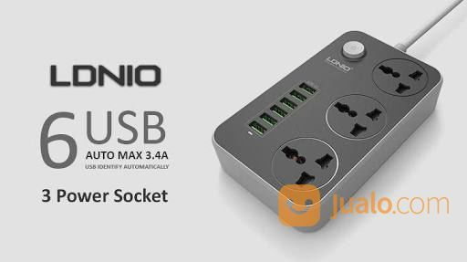 POWER CHARGER LDNIO SC3604 6 USB, 3SHOKET LISTRIK (15369785) di Kab. Pasuruan