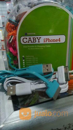 KABEL DATA HIPPO CABY IPHONE 4 (15394425) di Kab. Pasuruan