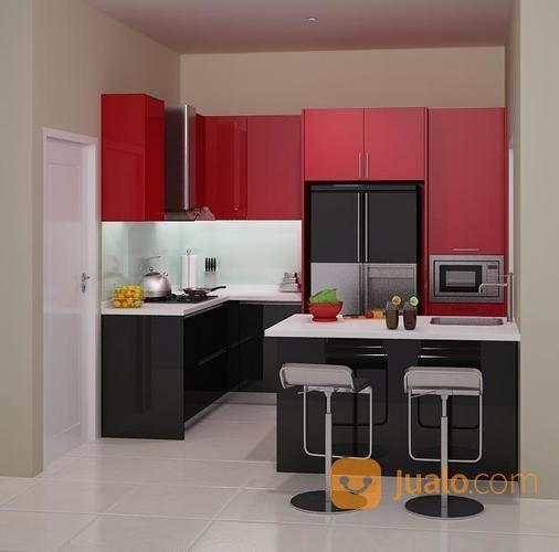 Kitchen Set Di Malang Lemari Dapur Atas Bawah Kitchen Set Minimalis Malang Jualo