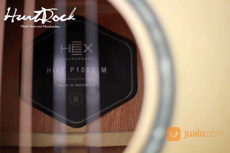 Guitar Acoustic Hex HIVE P100E M (15462761) di Kota Bandung