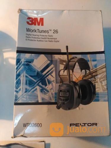 Peltor WTD2600 Worktunes-26 Radio / Hearing Protector Ear Muffs - NRR 26dB (15522037) di Kota Jakarta Barat