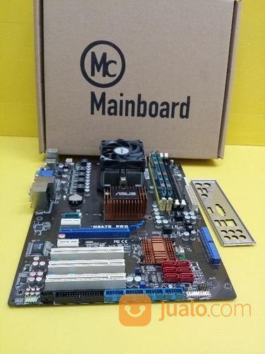 Mainboard ASUS M3A78 PRO DDR2 & Proice Phenom 9750 & RAM 2GB (15545725) di Kota Bekasi