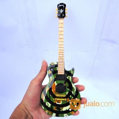 Miniatur Gitar Epiphone Les Paul Zakk Wylde Camo (15611621) di Kab. Madiun
