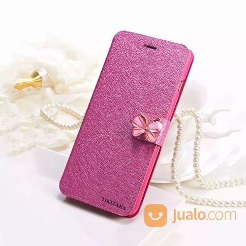 Premium Flip Case Butterfly For Iphone 6 / 6s (15640653) di Kota Jakarta Pusat