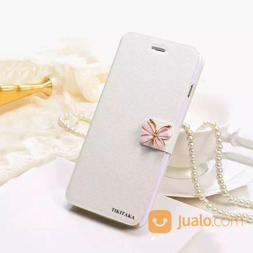 Premium Flip Case Butterfly For Iphone 6 / 6s (15640657) di Kota Jakarta Pusat