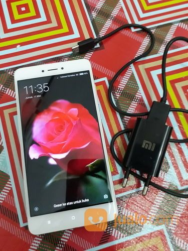 Xiaomi Redmi Note 4 3/16gb 4G Fingerprint Oke Mulus No Minus (15691485) di Kab. Tangerang