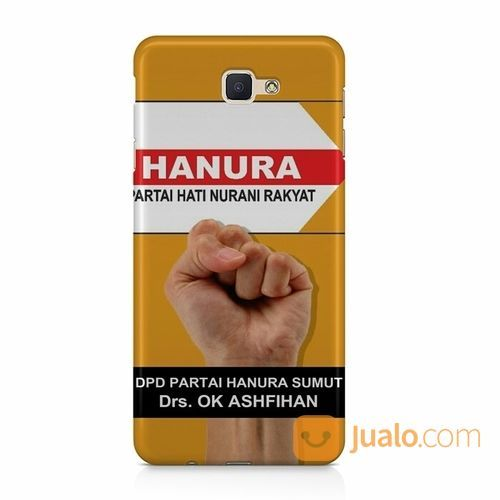 Partai Hanura Poster Your Text Samsung Galaxy J7 Prime Custom Hard Case (15711401) di Kota Bekasi