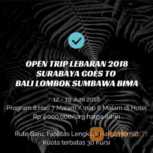 TOUR LEBARAN Bali Lombok Sumbawa Bima 12-19 Juni 2018 (15728677) di Kota Surabaya