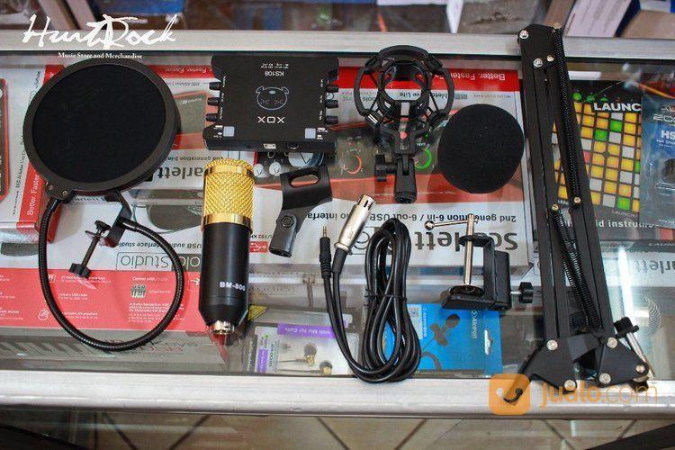 Paket Streaming Recording XOX KS108 & Mic BM 800 (15743297) di Kota Bandung