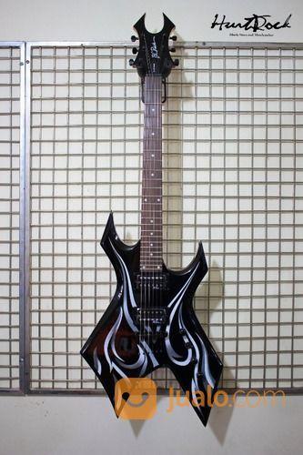 Gitar Elektrik BC Rich Kerry King Signature Warlock Tribal Grey (15743521) di Kota Bandung