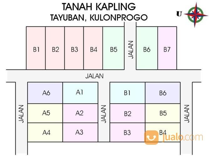 Tanah Kaveling Tayuban: Profit 25%, Buy Back Guarantee (15798669) di Kab. Kulon Progo