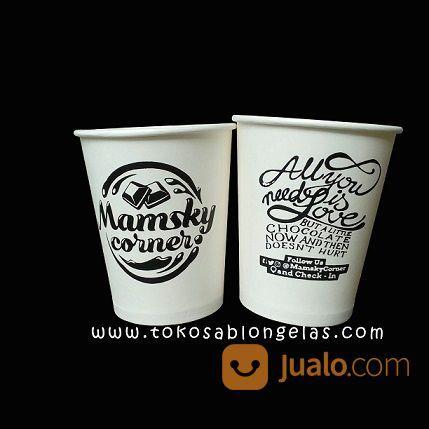 Sablon Paper Cup 9 Oz (15849401) di Kota Malang