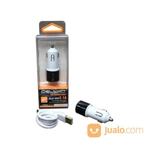 CHARGER MOBIL CELLKIT 520 2 OUTPUT USB (CK 520) (15897325) di Kota Surabaya
