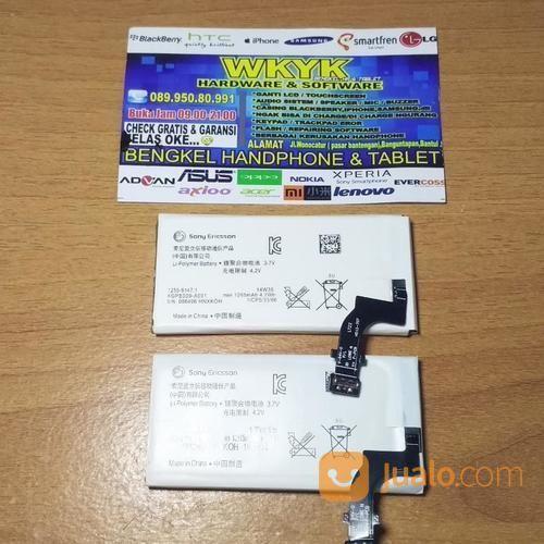 Battery Sony Xperia P/LT22 Terjamin 100% Original (15943501) di Kab. Bantul